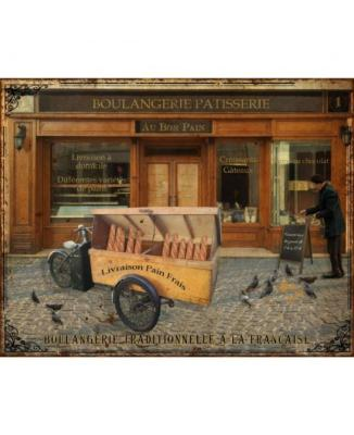 "Plaque ""Boulangerie"" - ANTIC LINE"